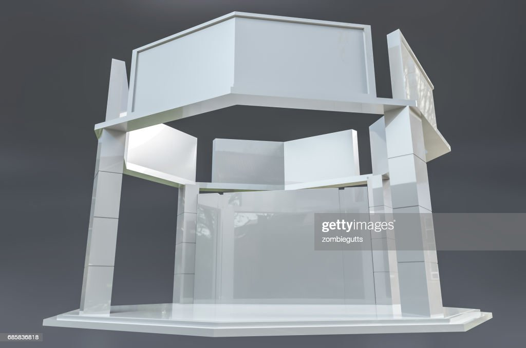 Exhibition Stand Template : Exhibition stand template stock illustration getty images