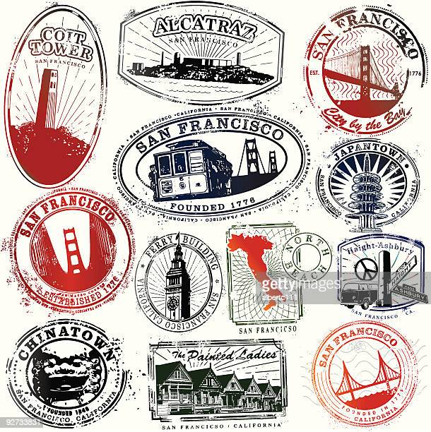 Exotic San Francisco Stamps
