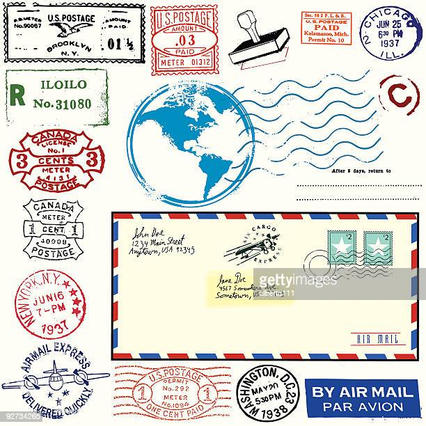 Exotic Vintage Airmail