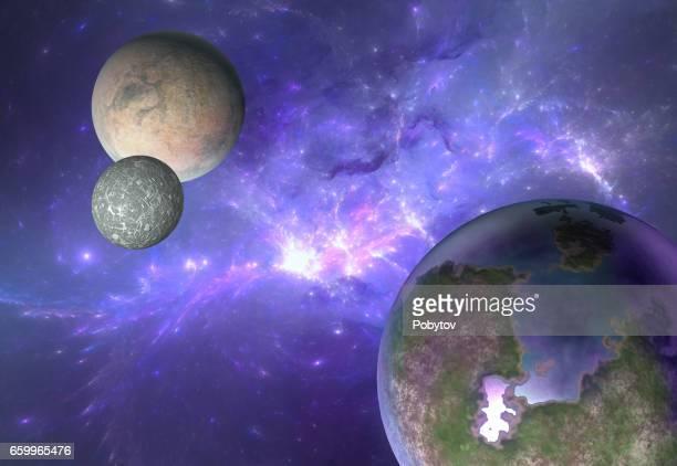 Utomjordiska system nebulosa