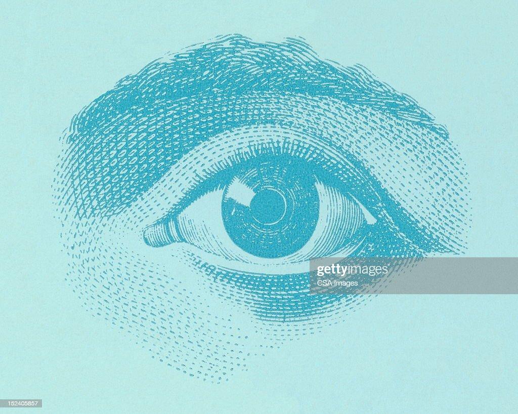 Os olhos : Ilustração