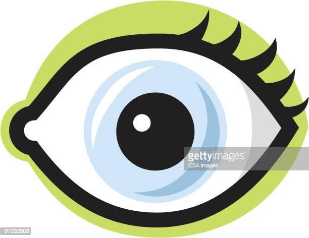 eye - human eye stock illustrations