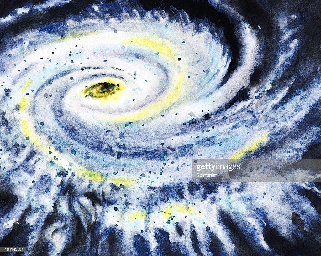 Eye of a Violent Storm : stock illustration