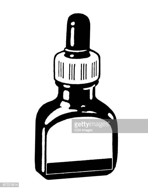 eyedropper - pipette stock illustrations, clip art, cartoons, & icons