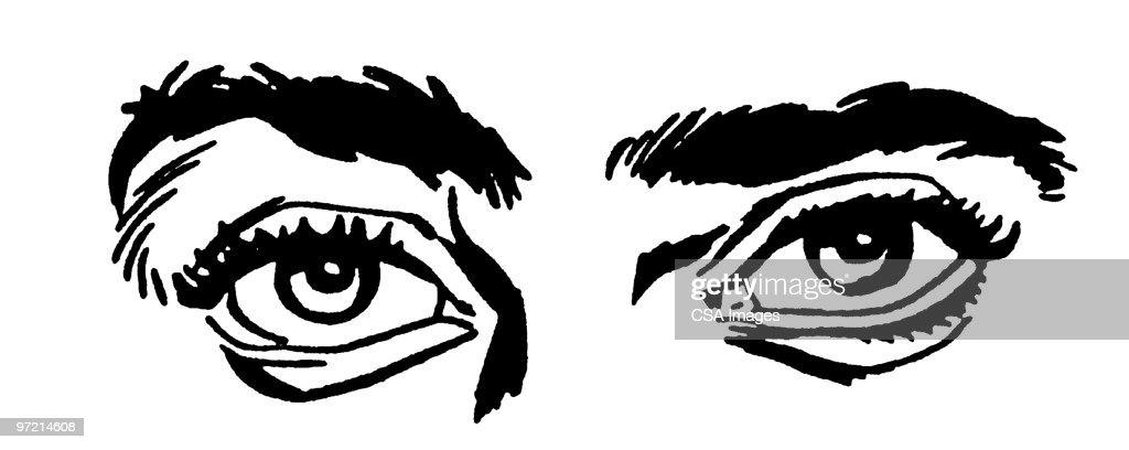 Eyes : stock illustration
