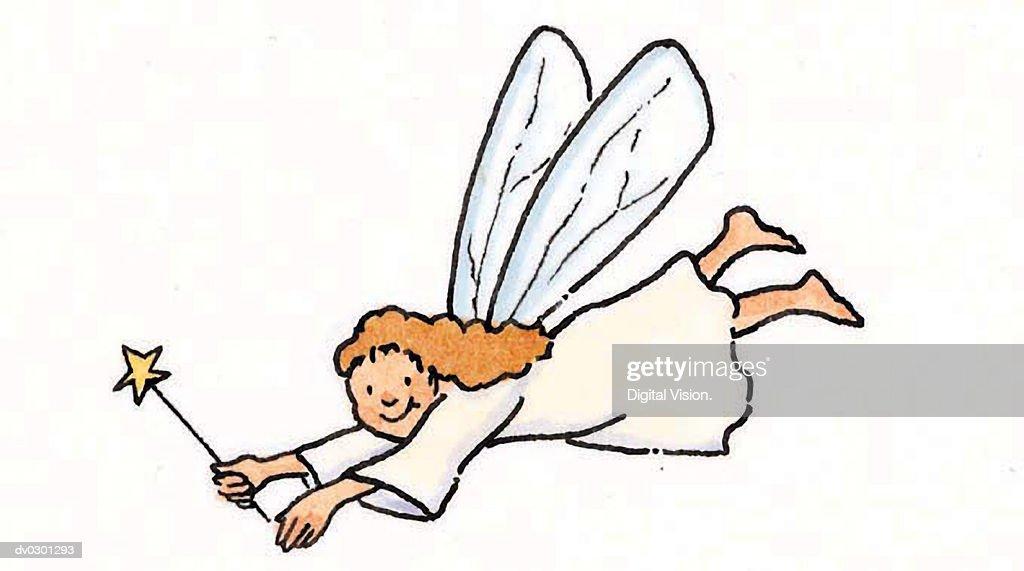 Fairy : stock illustration