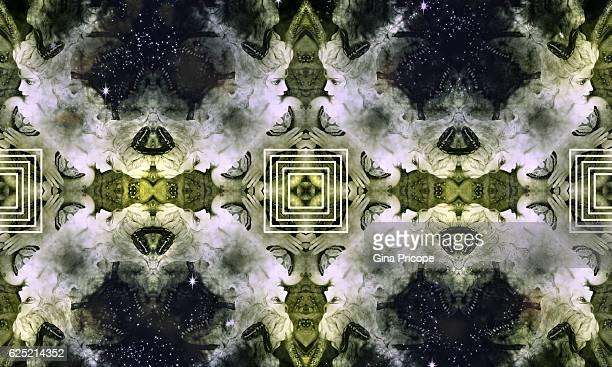 Fairy woodland kaleidoscope.