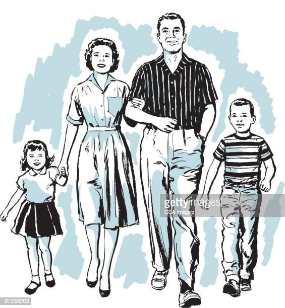 family - family stock illustrations