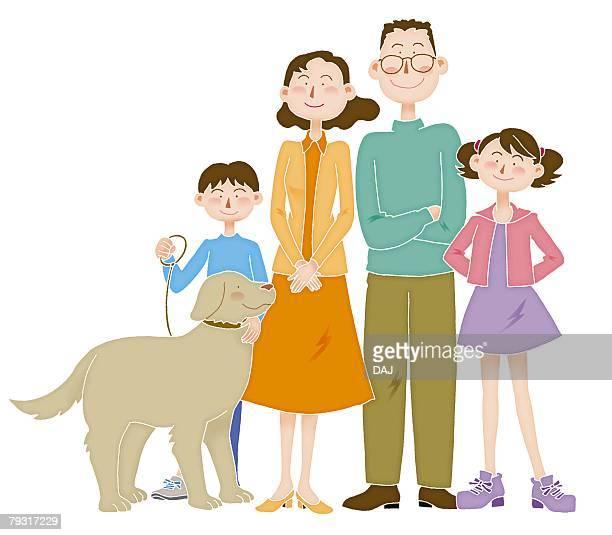 ilustraciones, imágenes clip art, dibujos animados e iconos de stock de family image, illustration - mujeres de mediana edad