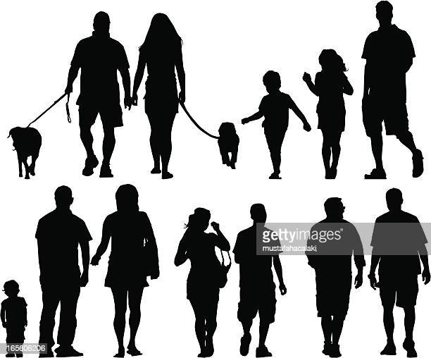 Family silhouettes II