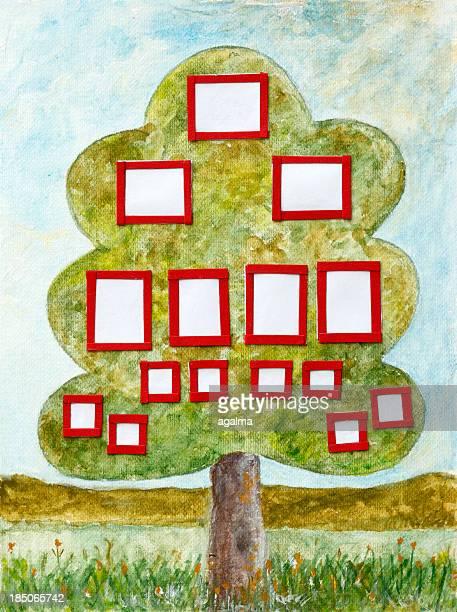 family tree - family tree stock illustrations