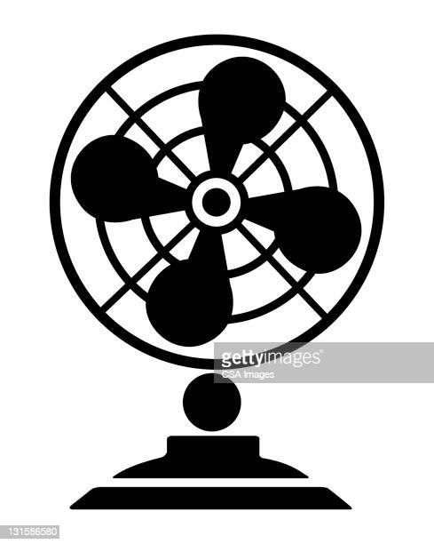 fan - electric fan stock illustrations