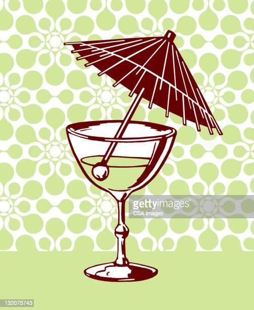 な傘のドリンク