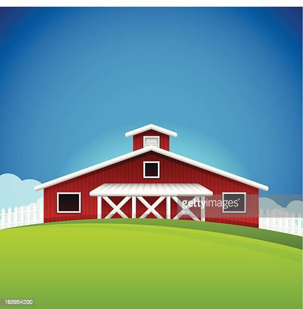 ilustraciones, imágenes clip art, dibujos animados e iconos de stock de farm de fondo - granja