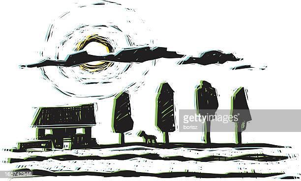 14 Farmhouse Interior Stock Illustrations, Clip art, Cartoons