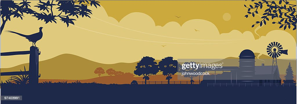 Farm : Stock Illustration