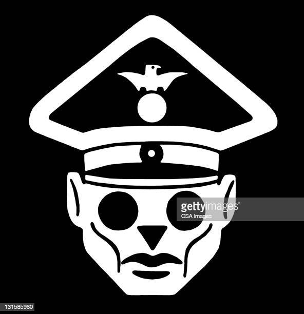 fascist leader - uniform stock illustrations