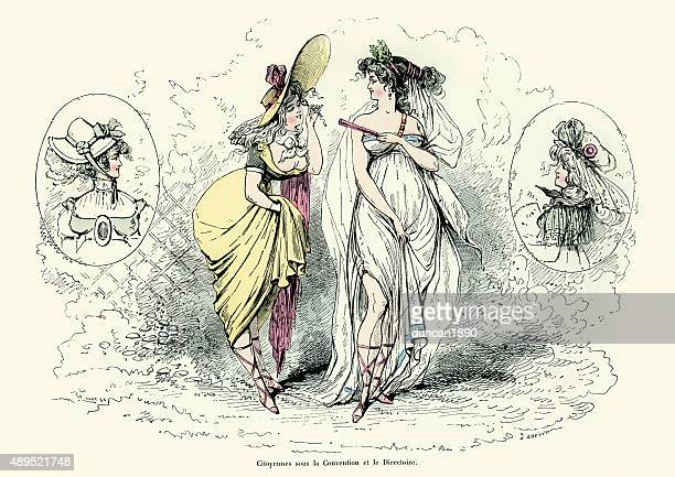 Fashions of the Convention and Directory period in France