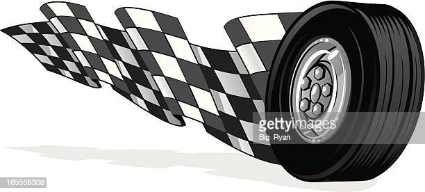 fast wheel - go carting stock illustrations, clip art, cartoons, & icons