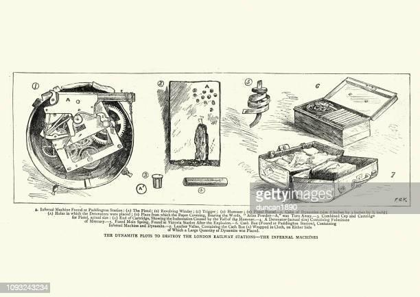 Fenian dynamite bomb, 19th Century