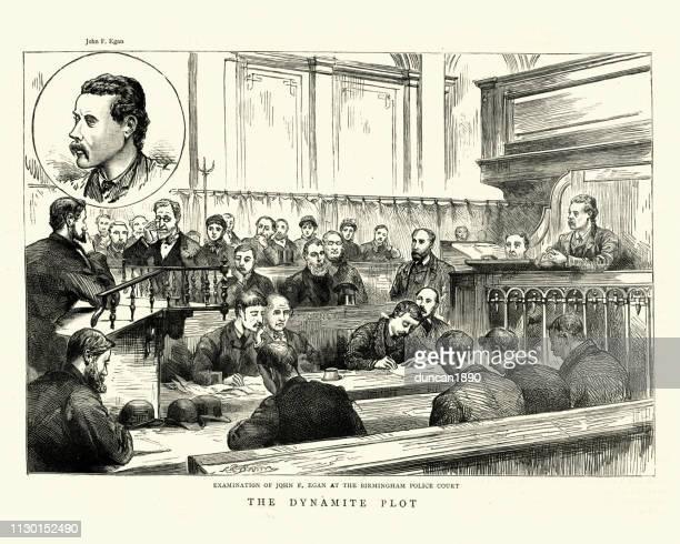 Fenian dynamite plot, Trial of James Egan at Birmingham, 1884