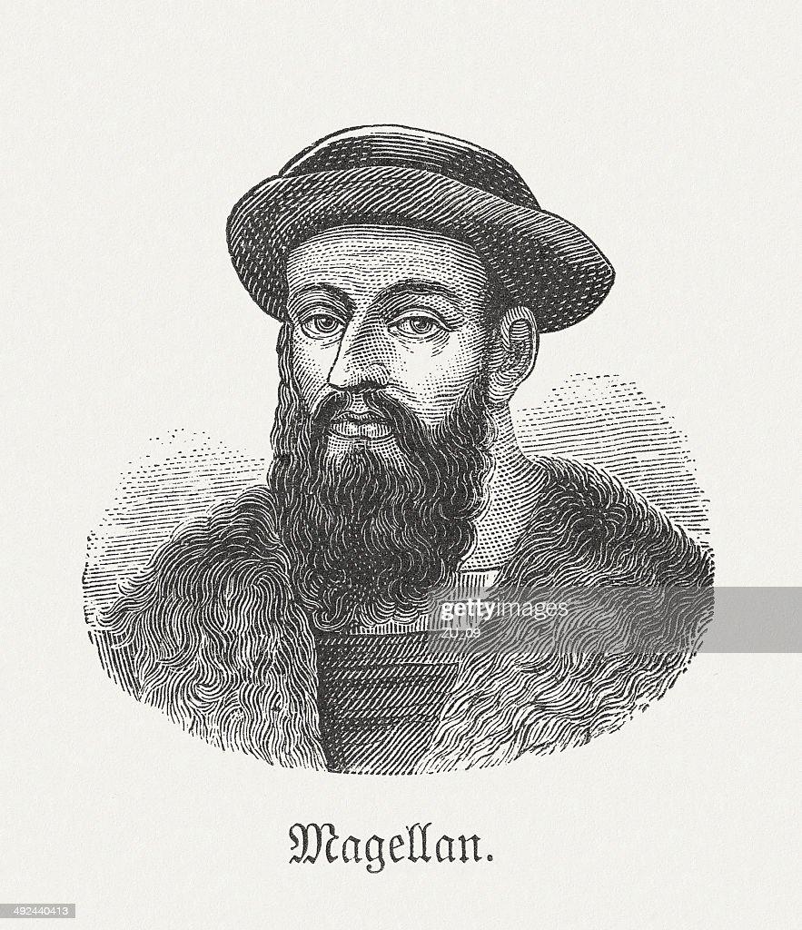 Ferdinando Magellano (1480-1521) : Illustrazione stock