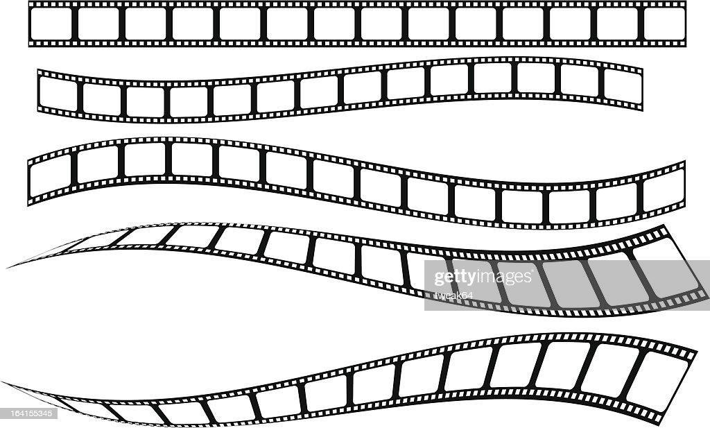 film strip : Stockillustraties