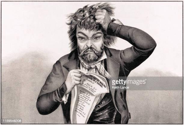 ilustraciones, imágenes clip art, dibujos animados e iconos de stock de crisis financiera - tirarse de los pelos