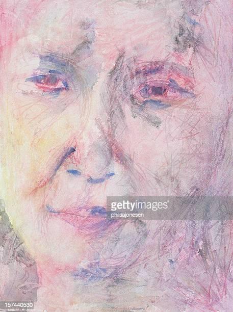 ilustrações, clipart, desenhos animados e ícones de retrato artístico - fine art portrait