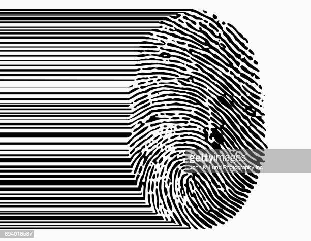 Fingerprint bar code