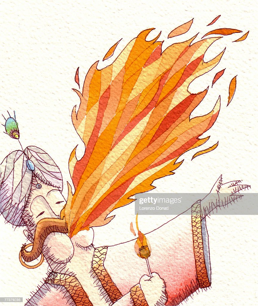 Fire breather : Illustration
