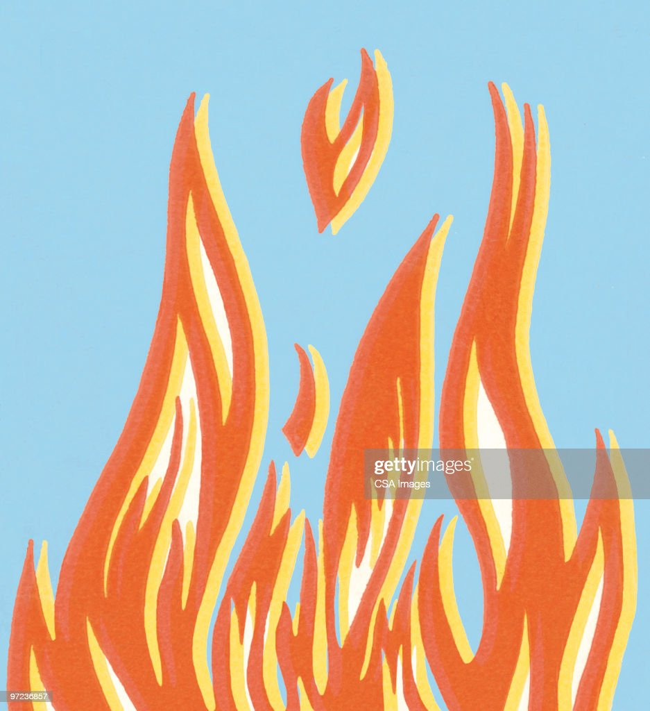 Fire : stock illustration