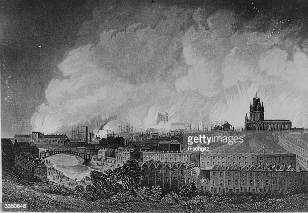 Fires across Bristol during the riots in 1831 started when judge Charles Wetherall arrived in the city and aggravated by the behaviour of special...
