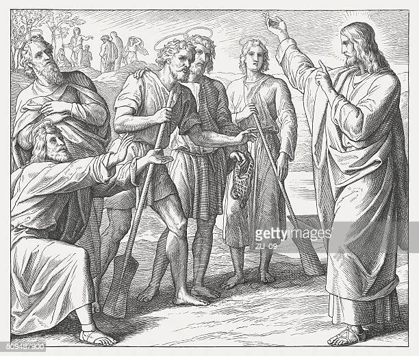 最初の信奉イエス、木材、に記載された 1860 」の彫りこみ文字 - 使徒点のイラスト素材/クリップアート素材/マンガ素材/アイコン素材