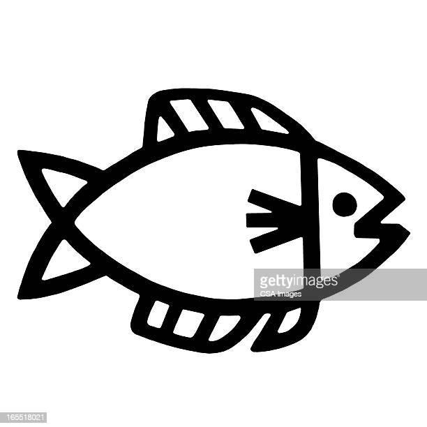 illustrations, cliparts, dessins animés et icônes de fish - poisson