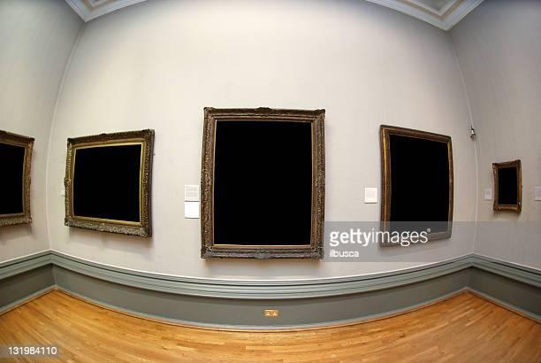 Fisheye museum frames