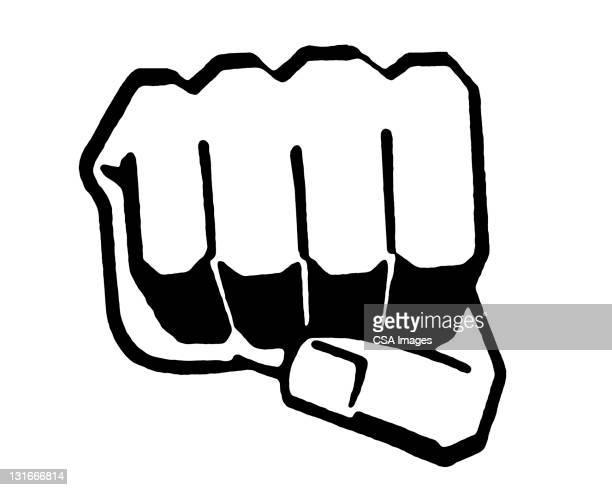 fist - image stock illustrations