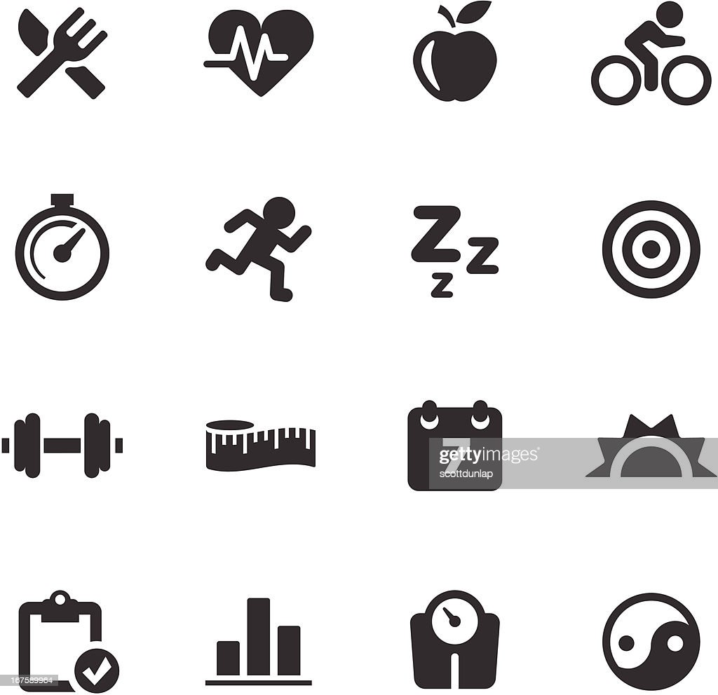 Fitness Icons | Mono Series