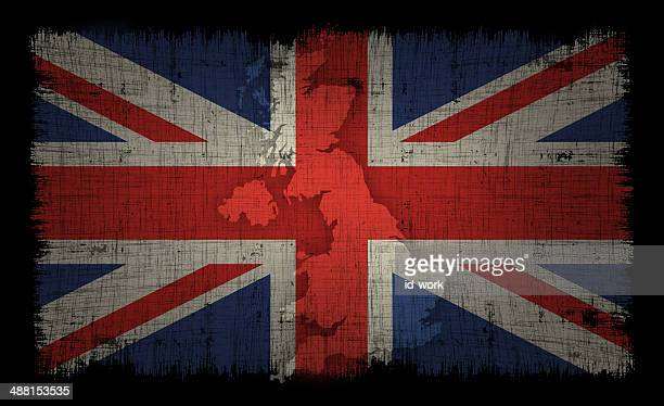 UK flag and map