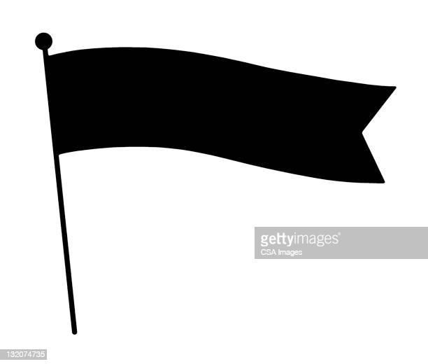 flag - pennon stock illustrations
