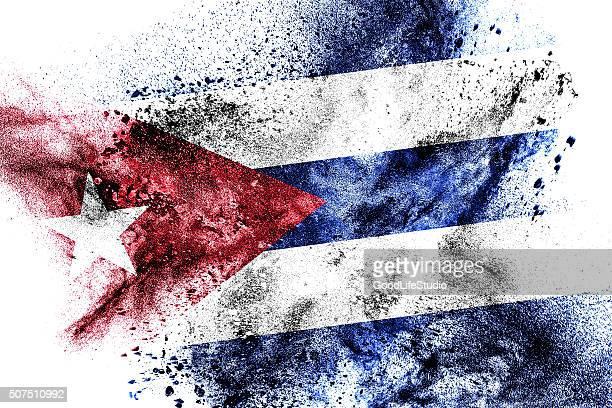 flag of cuba - cuban flag stock illustrations