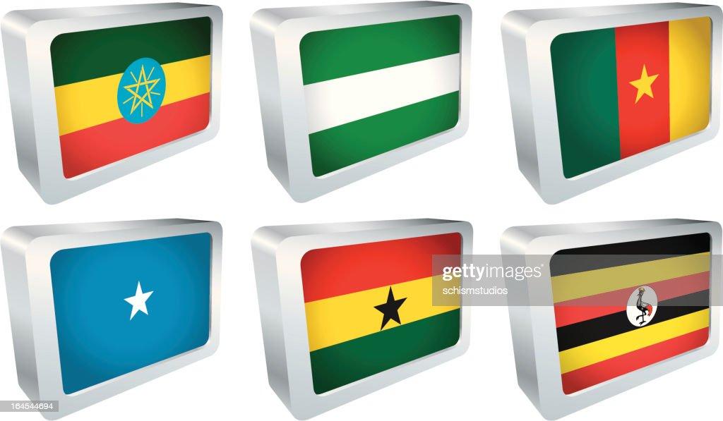 Flag Tile - Africa Group