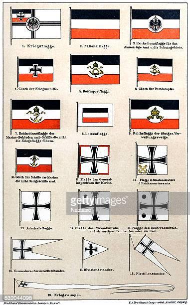 Drapeaux de l'Allemagne Empire