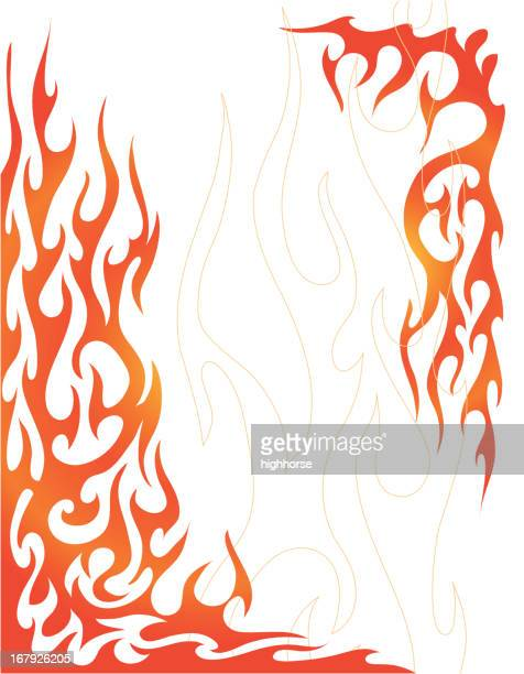 Flaming Background