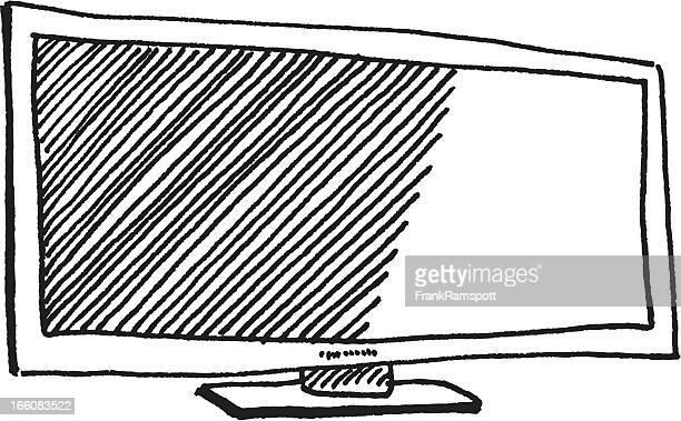 Flatscreen TV Sketch
