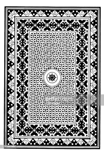 floor star pattern - suit stock illustrations