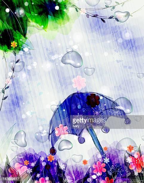 flora background - monsoon stock illustrations, clip art, cartoons, & icons