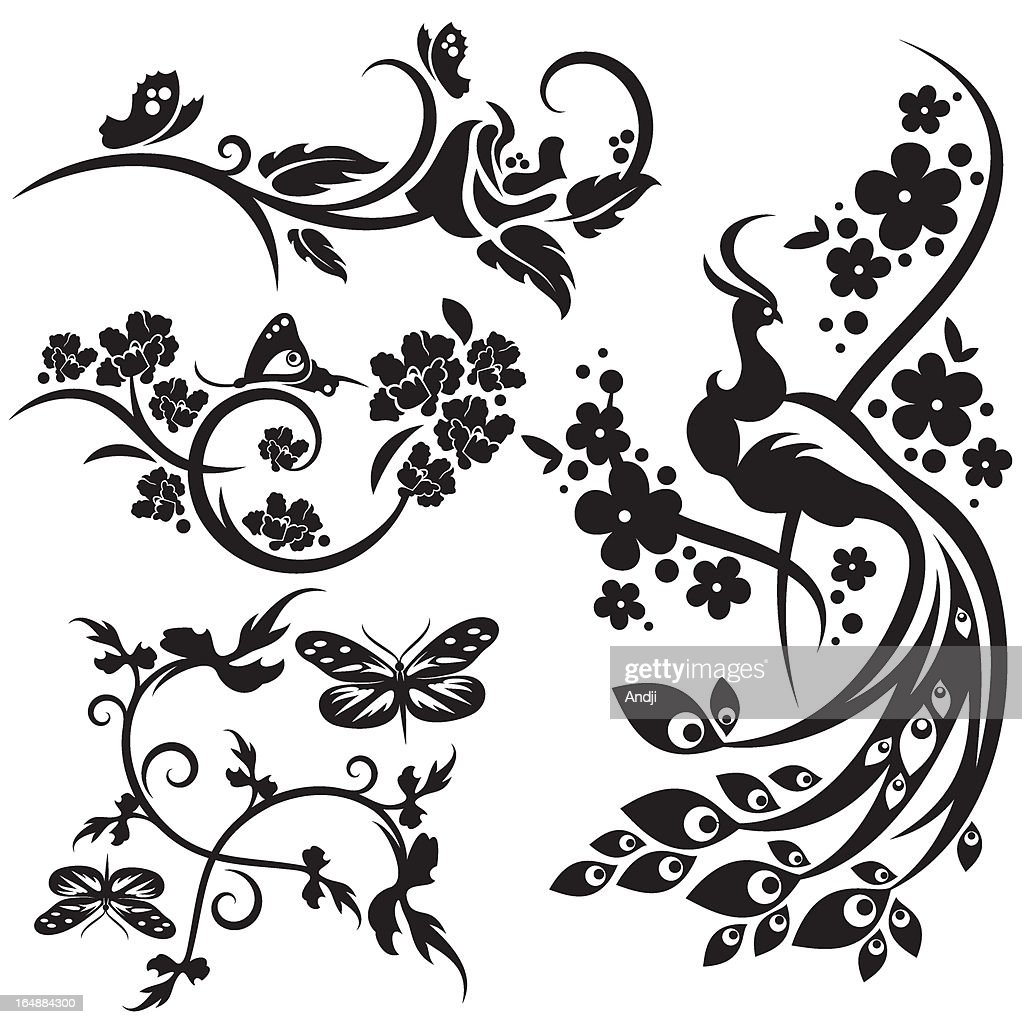 Floral Design Series. Chinese style