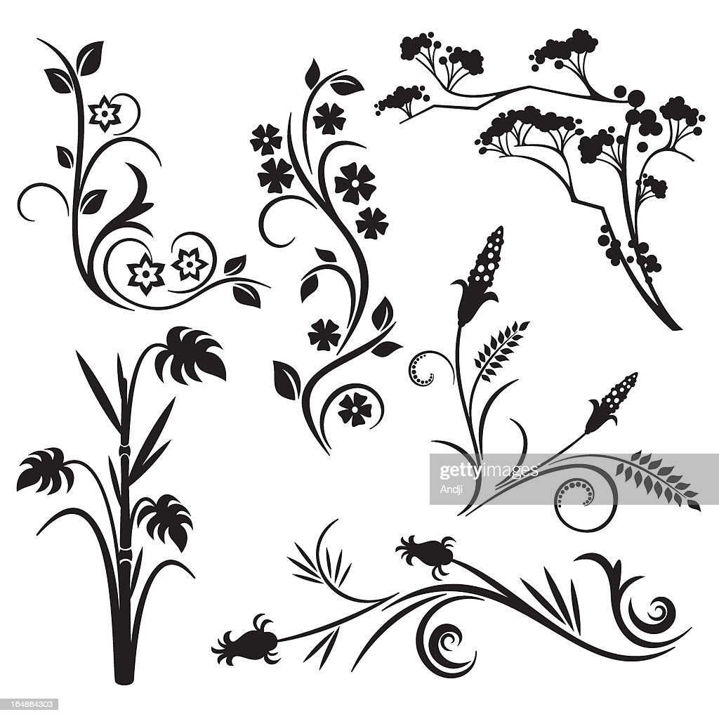 Floral Design Series. Japanese style