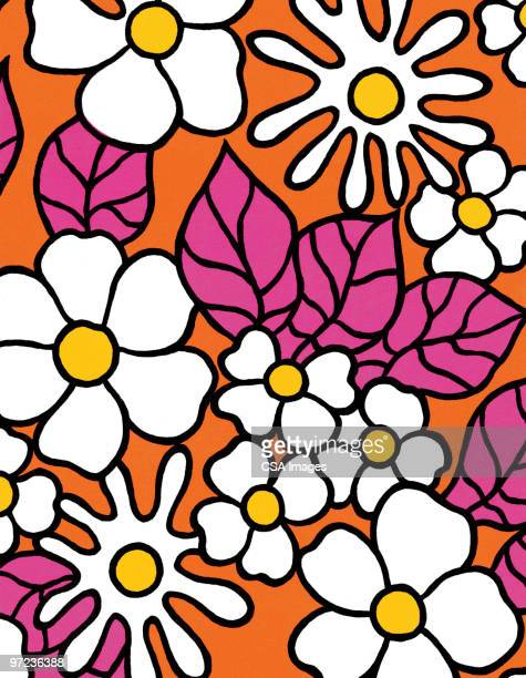floral pattern - floral pattern stock illustrations
